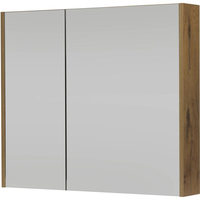 Saqu Salto Spiegelkast 80x70 cm Wild Eiken