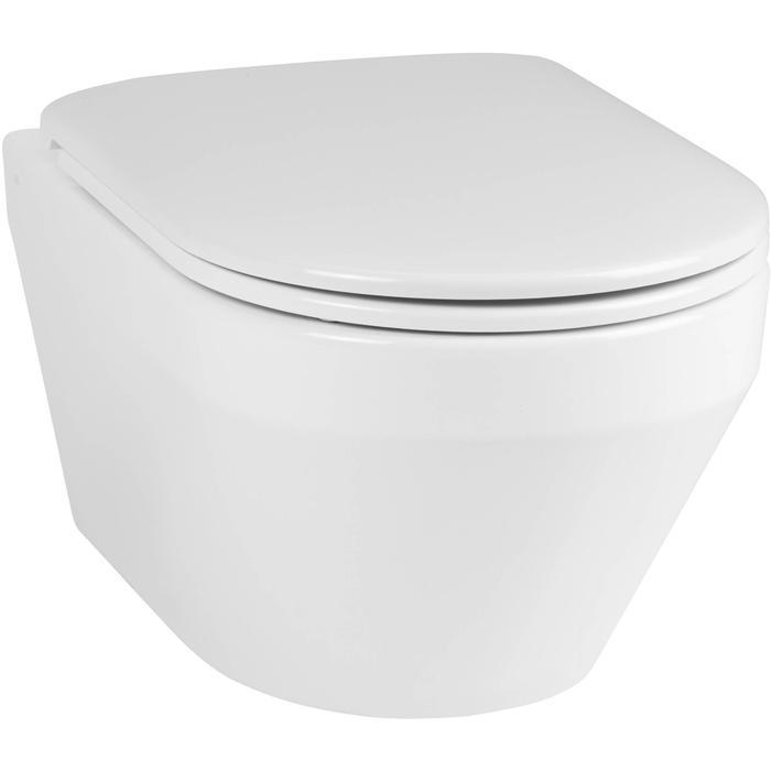 Ben Scuro Wandcloset Free Flush Xtra Glaze Wit