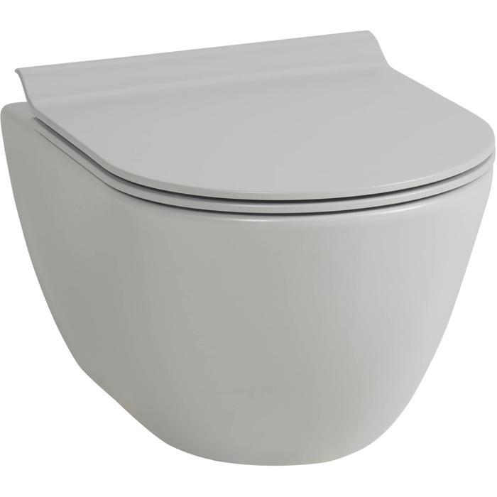 Ben Segno hangtoilet compact Xtra glaze+ Free flush cement grijs