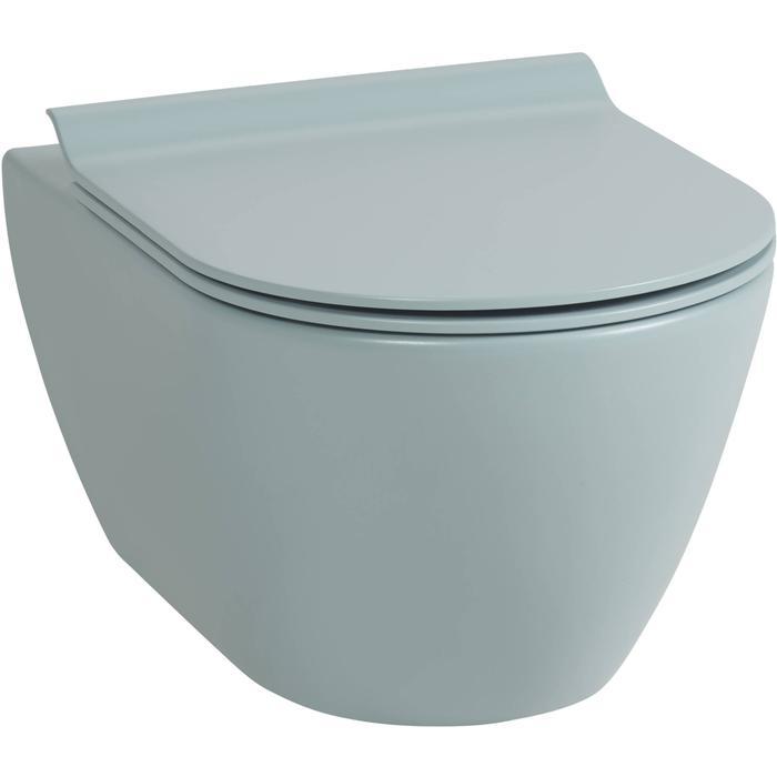 Ben Segno hangtoilet Xtra glaze+ Free flush azuur mat