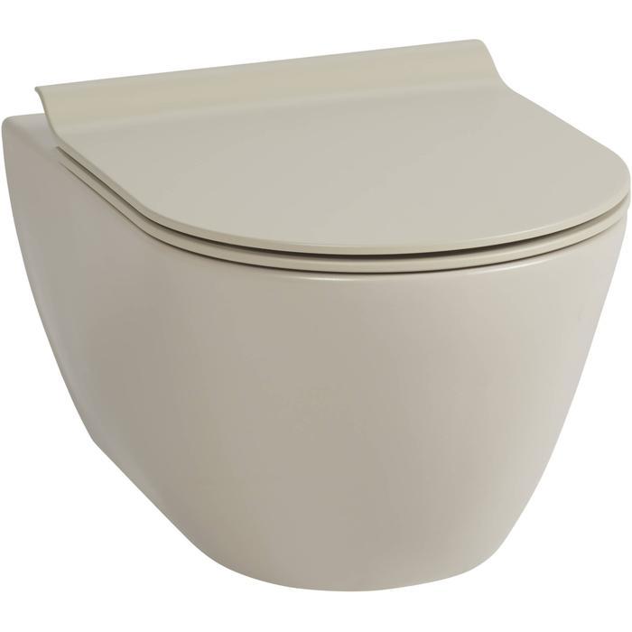Ben Segno hangtoilet Xtra glaze+ Free flush mat beige