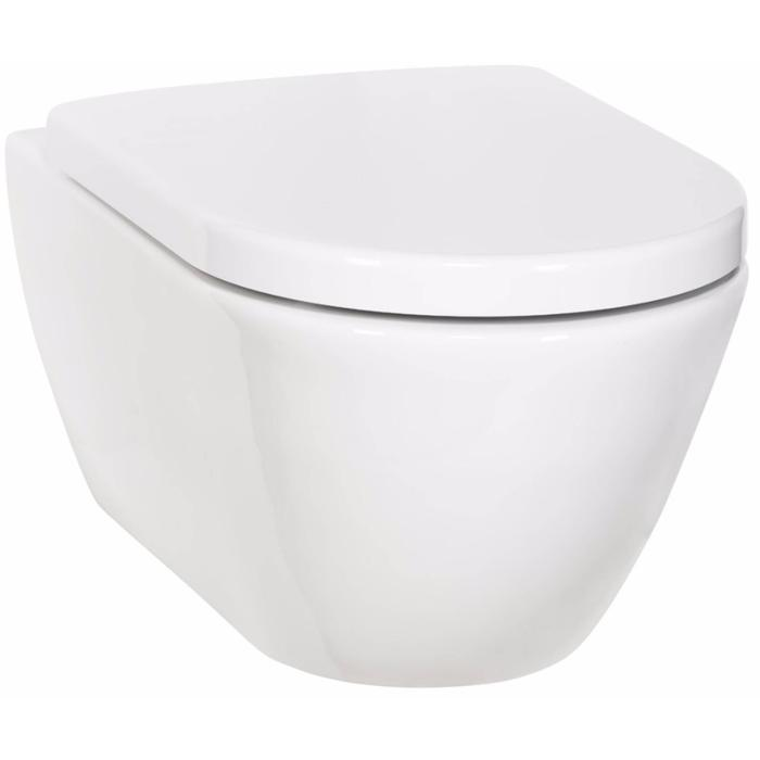 Ben Segno Compact Wandcloset Free Flush Xtra Glaze Wit