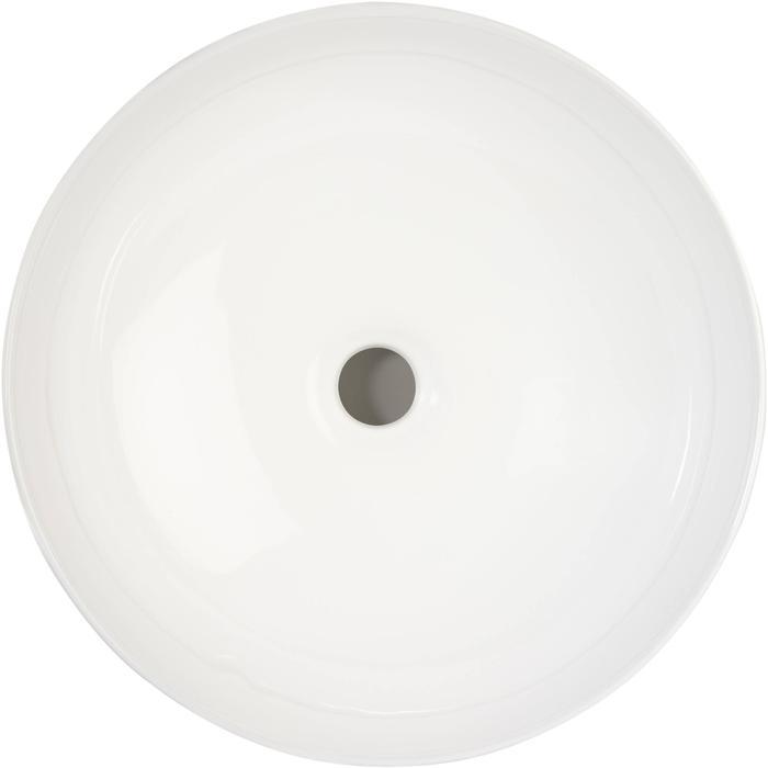 Ben Sierra Opzetkom Ø40,5x14 cm Glans Wit