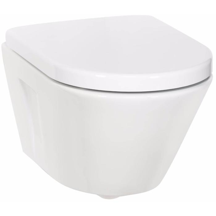 Ben Sito Compact Wandcloset Free Flush Xtra Glaze Wit