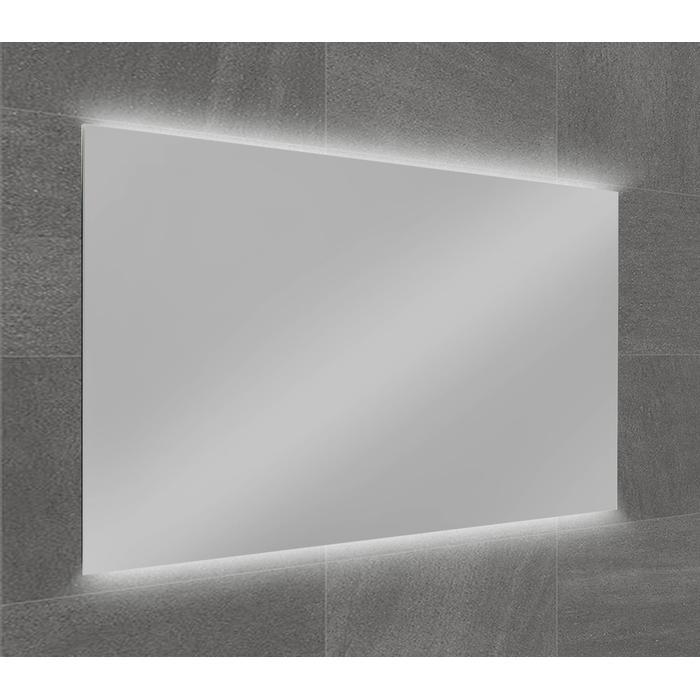Ben Vario Spiegel Fiano incl. 2x LED verlichting (onder/boven) met schakelaar 100x75x4cm
