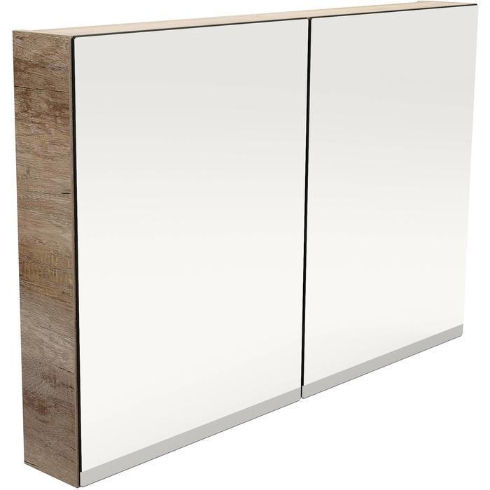 Primbad Spiegelkast met verwarming 100x12x65,3 cm