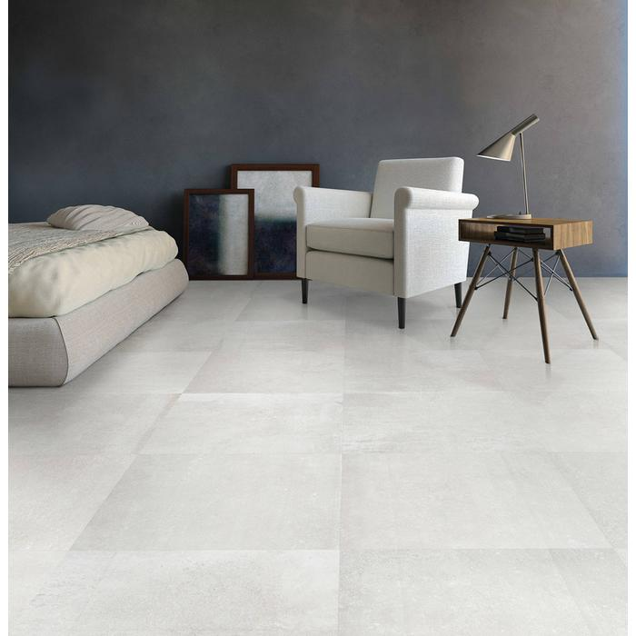 Vloertegel Terratinta Stone design 30x60x1 cm Chalk 1,44M2