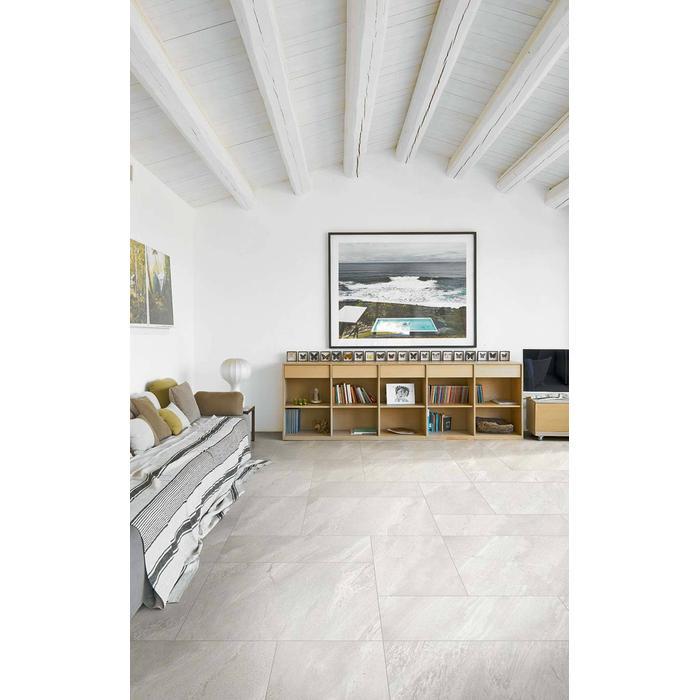 Vloertegel Casa Dolce Casa STONES & MORE 80x80x- cm Stone Burl Gray 1,28M2