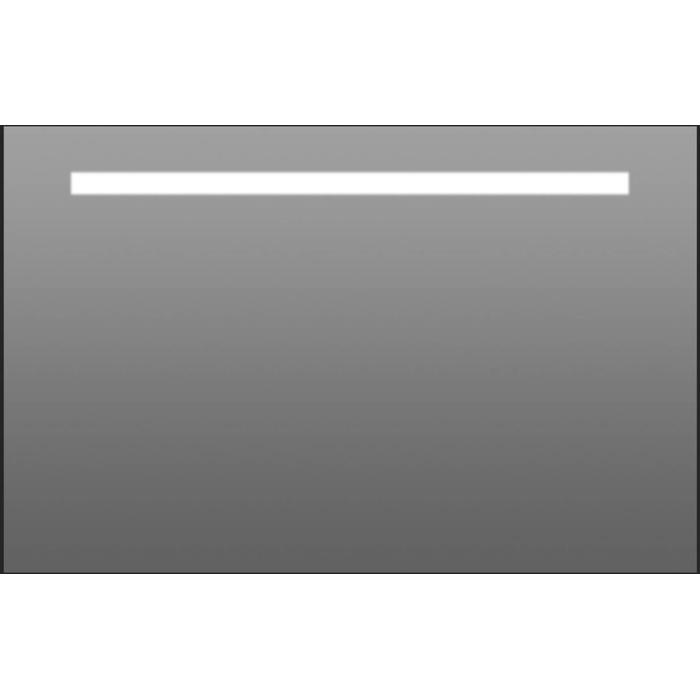 Thebalux Stripe LED spiegel 60x70x3,5 cm Alu frame