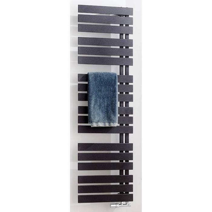 Ben Thasos designradiator 180x50cm 770W Antraciet