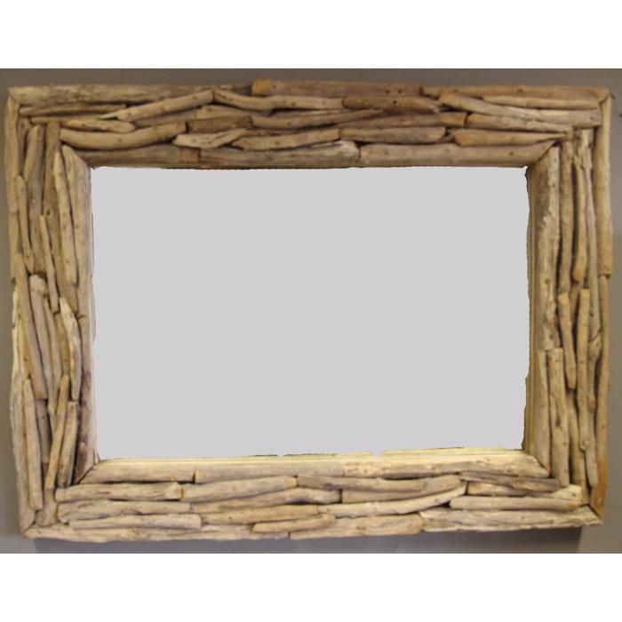 Teak & Living spiegel sprokkel 70x70 cm