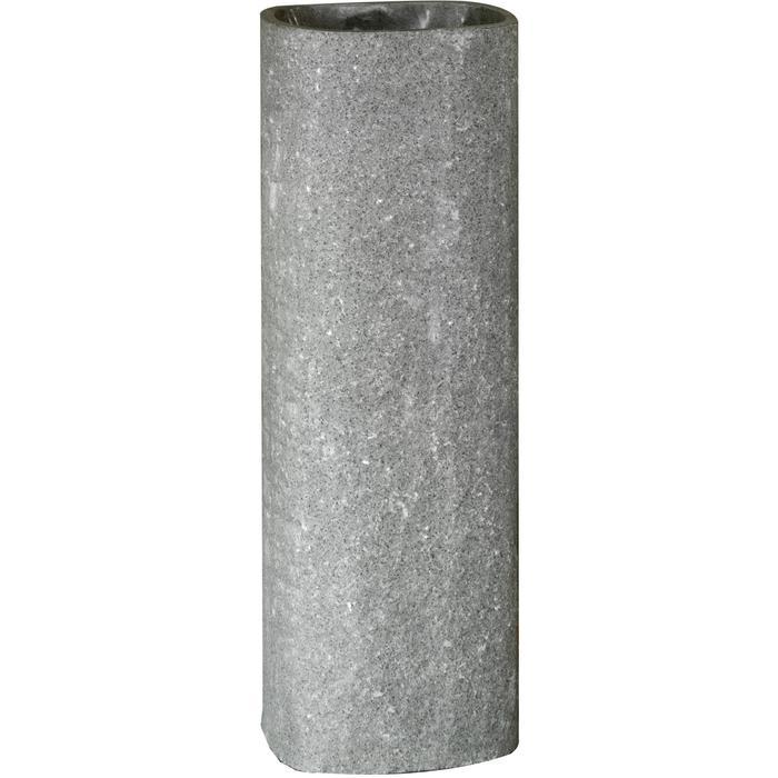 Teak & Living Wastafelzuil 30x25x90 cm Stone