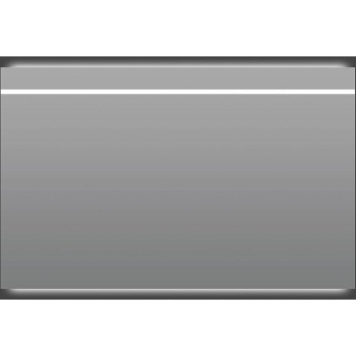 Thebalux Thin Line LED spiegel 130x75x4 cm Alu frame