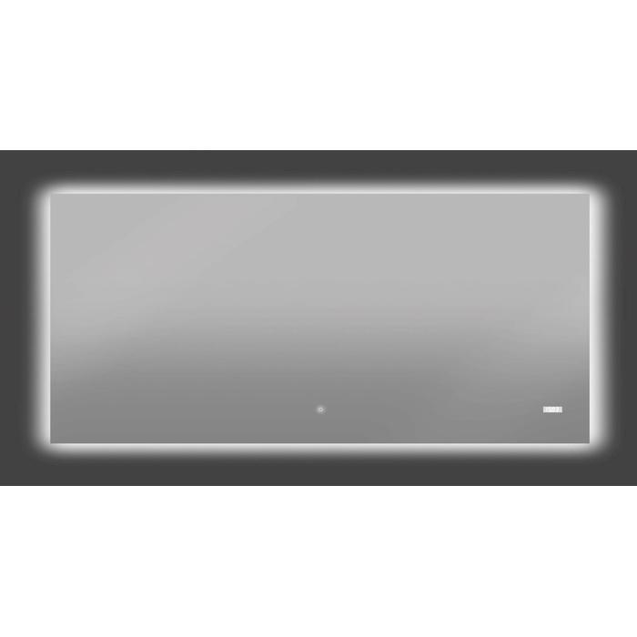 Thebalux Time LED spiegel met verwarming 150x70x3,5 cm Alu frame