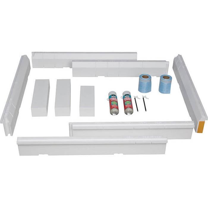 U91411300 V&B Installatieset voor grote maten (1200 x 700 - 1800 x 900)