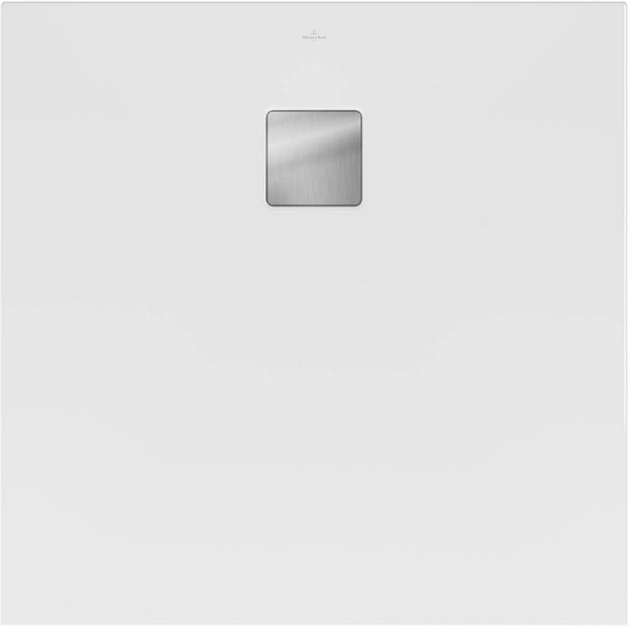 Villeroy & Boch Excello Douchevloer UltraCore 90x90x4 cm Stone White