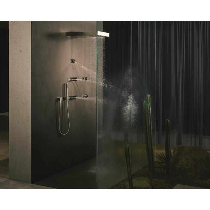 Dornbracht Vertical Shower Regendouche met Plafondverbinding Platina Mat