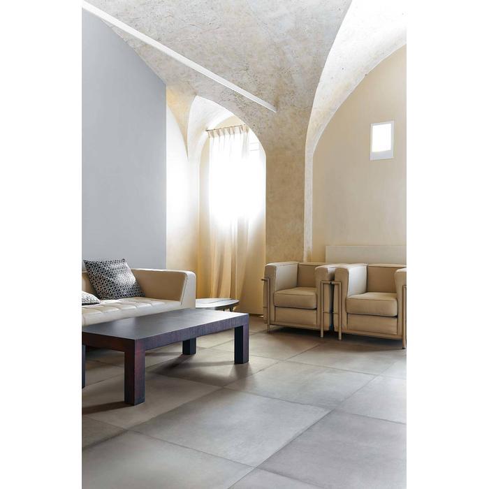 Vloertegel Rex Visions by Rex (Concrete) 40x80x1 cm Silver 0,96M2
