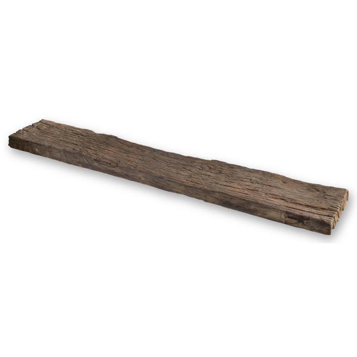 Looox Wooden Collection bath shelf raw massief eiken