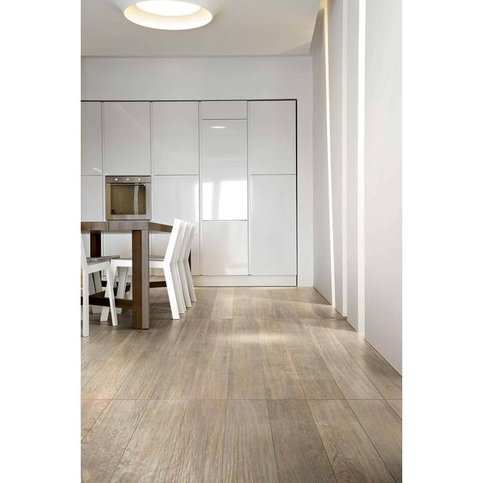 Vloertegel CTC Wooden Tile Collection 26,5x180x1 cm Cream 1,44M2