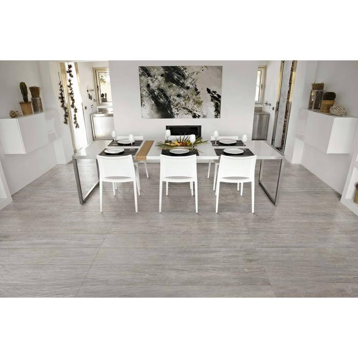 Vloertegel CTC Wooden Tile Collection 26,5x180x1 cm Grey 1,44M2