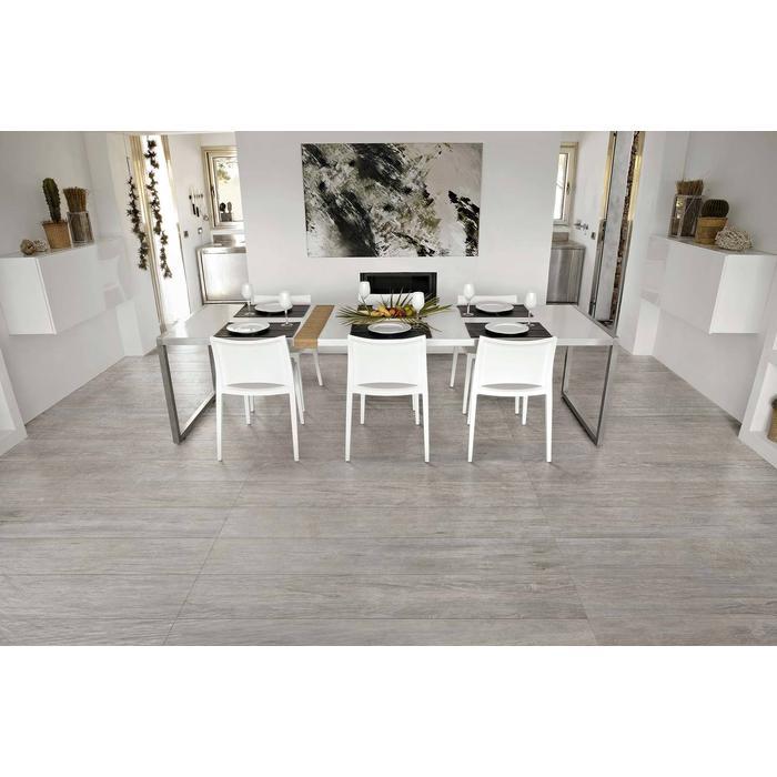 Vloertegel CTC Wooden Tile Collection 20x120x1 cm Grey 1,44M2