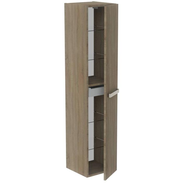 Thebalux You Hoge Kast 35x35x165 cm Authentic Oak
