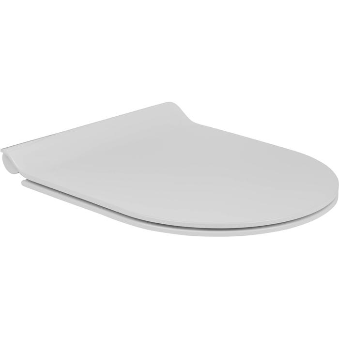 Ben Segno/Sito Slimline toiletbril met softclose Wit
