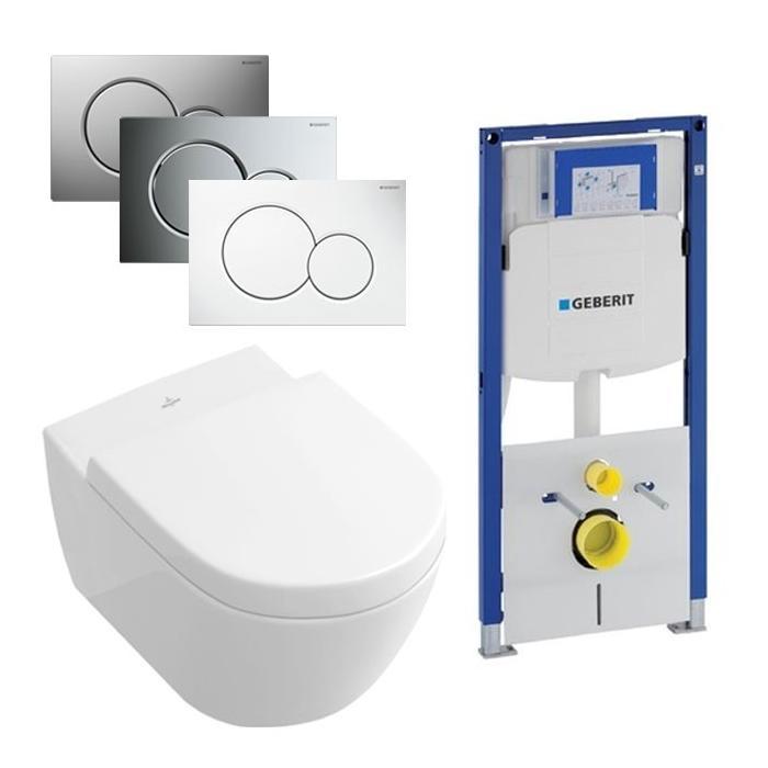 Villeroy & Boch Subway 2.0 Direct Flush / Geberit UP320 set