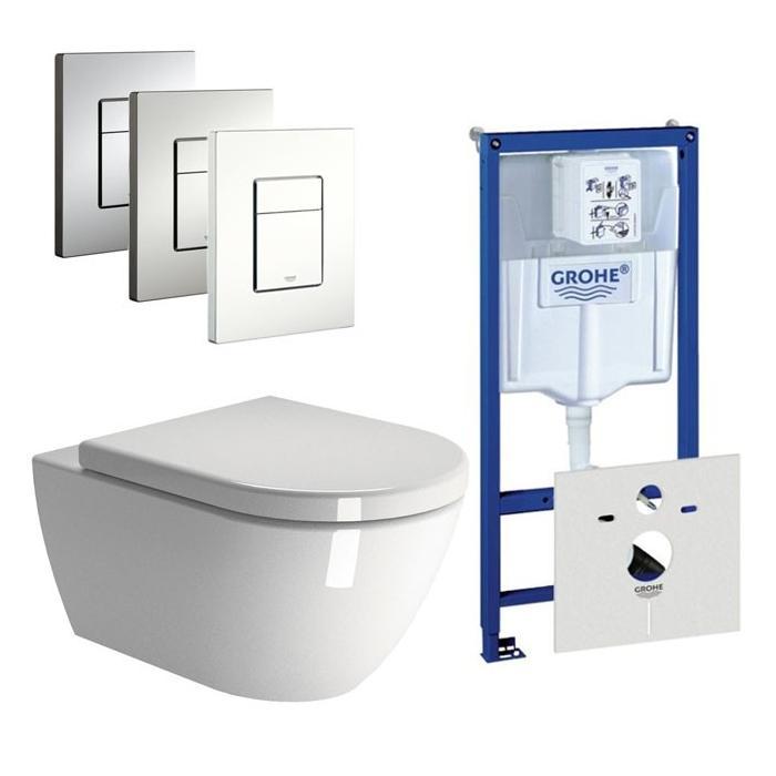 Ben Segno Free Flush Xtra Glaze / Grohe Rapid SL set