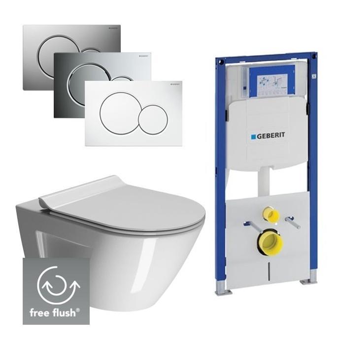 Ben Sito Free Flush Xtra Glaze / Geberit UP320 set