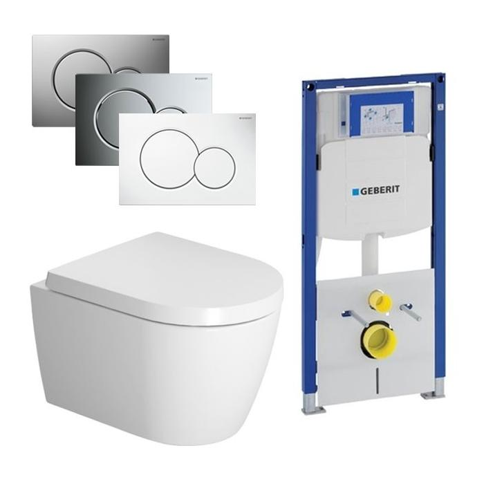 Duravit ME by Starck Compact Rimless / Geberit UP320 set